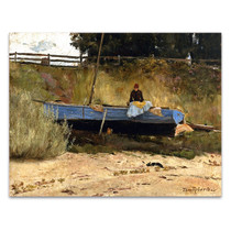 Roberts | Boat on Beach, Queenscliff