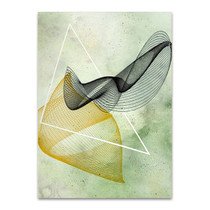 Abstract Spirograph I Wall Print