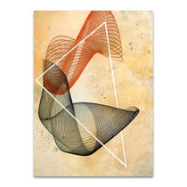 Abstract Spirograph III Wall Print