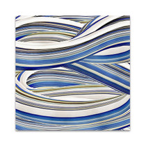 The Blue Swirls I Wall Art Print