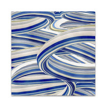 The Blue Swirls II Wall Art Print