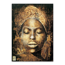 Woman African Tribal Wall Print