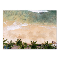 Caribbean Beach Wall Art Print