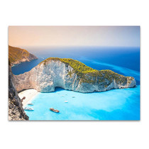 Zakynthos Greek Island Wall Art Print