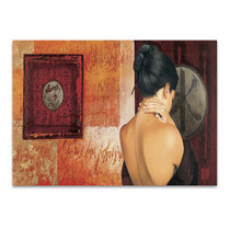 The Chinese Lady I Wall Art Print
