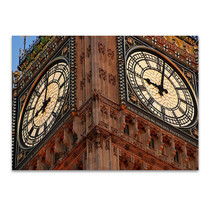 Big Ben Clockface Wall Art Print