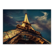 Eiffel Tower at Night Wall Art Print