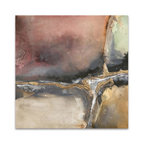 Gilded Crevice I Wall Art Print
