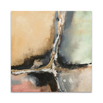 Gilded Crevice II Wall Art Print