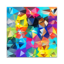 Digital Geometric Wall Art Print