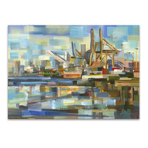 The Port of Seattle Wall Art Print