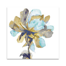 Fresh Bloom Aqua I Wall Art Print
