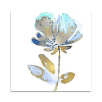 Fresh Bloom Aqua II Wall Art Print