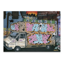 Funky Truck I Wall Art Print