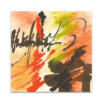 Graffiti Orange II Wall Art Print