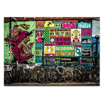 New York Street Wall Art Print
