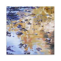 River Rocks and Reflections I Wall Art Print