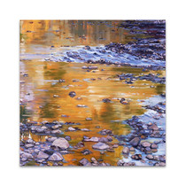 River Rocks and Reflections II Wall Art Print