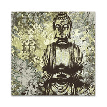 Water Garden Buddha Wall Art Print