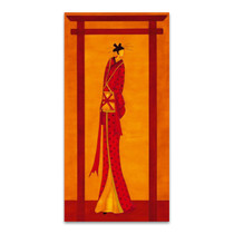 Geisha II Wall Art Print