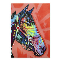 Purple Horse Wall Art Print
