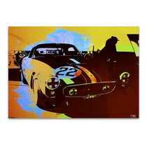 Ferrari Race Car Wall Art Print