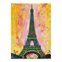 Eiffel Tower Paris Wall Art Print