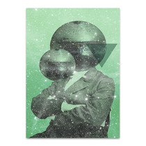 Green Universe Wall Art Print