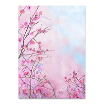 Japanese Cherry Flower Wall Art Print