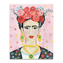Homage to Frida Wall Art Print