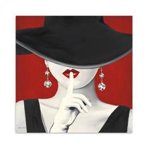 Haute Chapeau Rouge I Wall Art Print