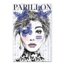 The Papillon Wall Art Print