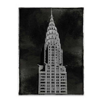 New York Chrysler Building Wall Art Print
