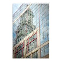 Skyscraper Reflections Boston Wall Art Print