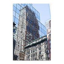 Skyscraper Reflections New York Wall Art Print