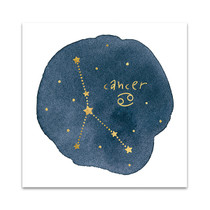 Horoscope Cancer Wall Art Print
