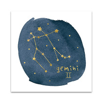Horoscope Gemini Wall Art Print