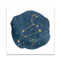 Horoscope Leo Wall Art Print