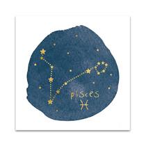 Horoscope Pisces Wall Art Print