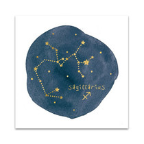 Horoscope Sagittarius Wall Art Print