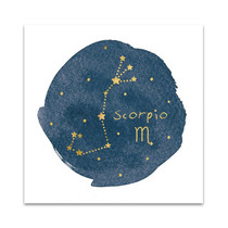 Horoscope Scorpio Wall Art Print