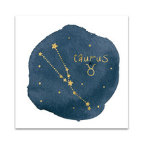 Horoscope Taurus Wall Art Print