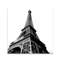 High Eiffel Tower Wall Art Print