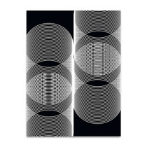 Linear Motion V Wall Art Print