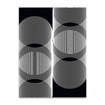 Linear Motion V Wall Art Print