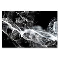 White Smoke Wall Art Print