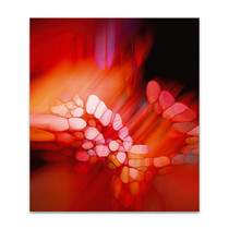 Expression in Rot Wall Art Print