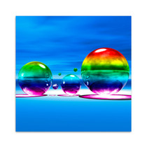 Rainbowl III Wall Art Print