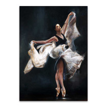 Butterfly Ballet Wall Art Print