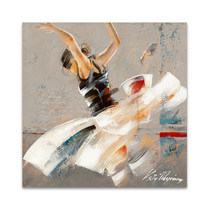 Dance Fusion I Wall Art Print